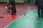 テニスハードコートの工事のイメージ
