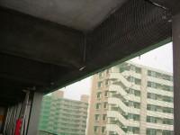 劣化建材落下防止ネット工事写真3