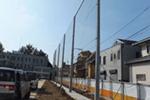 学校、スポーツ施設、マンションなどの防球ネット工事のイメージ